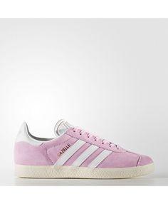 f7443097dcef9 Adidas Gazelle Wonder Pink White Trainer