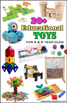 Educational Toys For 6 Year Olds Christmas Gifts 5 OldsChristmas IdeasEducational