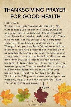 10 Prayers For Thanksgiving Day - The Graceful Chapter