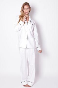 Pyjamas en soie Olivia Von Halle