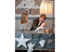 So sweet. Country French, Kids Rooms, Interior Inspiration, Cool Photos, Baby Kids, Neutral, Glow, Interiors, Heart