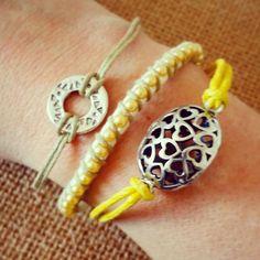 Set of 3 bracelets by WithLoveGlasgow on Etsy