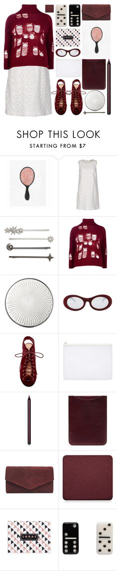 """""""playful"""" by foundlostme ❤ liked on Polyvore featuring Rifle Paper Co, Moncler, Henri Bendel, Boohoo, Guerlain, Forever 21, Top Guy, Armani Beauty, Mulberry and Chinese Laundry"""