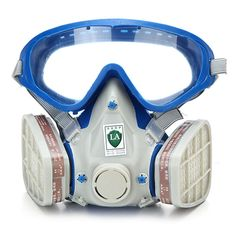 Ambitious 7502 Half Face Facepiece Respirator Silicone Silicone Painting Spraying Mask Screws