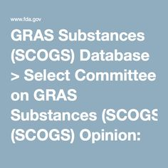 GRAS Substances (SCOGS) Database > Select Committee on GRAS Substances (SCOGS) Opinion: Ox bile extract, cholic acid, desoxycholic acid, glycocholic acid, and taurocholic acid