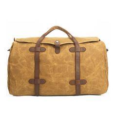 8ad936ec51d7 Waxed Canvas Duffle Bag   Weekend Bag   Duffel Bag Men   Men Duffle Bag    Weekender Bag   Leather Duffle Bag   Mens Duffel Bag   Gym Bag(S16) from  Uni4 Bags
