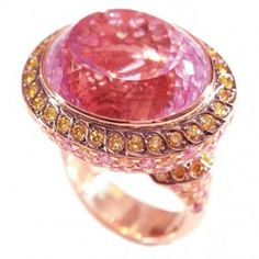 SULTANESQUE JEWELRY | Gold, diamond and gemstone ring by Diamonds for a Cure
