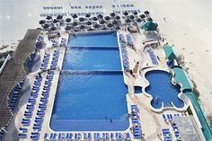 Great Parnassus Resort and Spa All Inclusive (Cancun, Mexico) | Beach Pool & Adult pool with swim-up bar