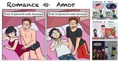 ¿Alguna vez te preguntaste cuales son las diferencias entre el amor y el romance? Hoy