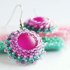 Makronkové náušnice Crochet Earrings, Jewelry, Jewlery, Jewerly, Schmuck, Jewels, Jewelery, Fine Jewelry, Jewel