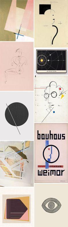 picture this: bauhaus. Solar System Art, Wall Art Prints, Poster Prints, Rise Art, Modern Art Movements, Clark Art, Retro Advertising, Art And Technology, Modern Wall Art