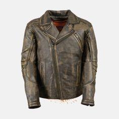 Milwaukee Mens Distressed 10 Pocket Vest Brown, 4X-Large