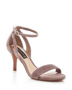 STEVEN BY STEVE MADDEN Valor Suede Dress High Heel Sandals