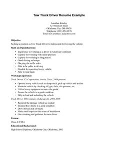 Resume Samples For Truck Drivers Awesome The Best And Impressive Dance Resume Examples Collections .