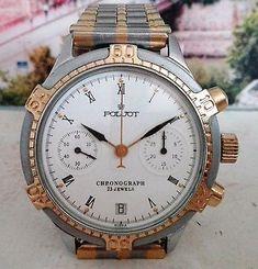 Post Soviet Poljot chronograph. Appears in the Poljot 1994 catalogue. 3133/3808744