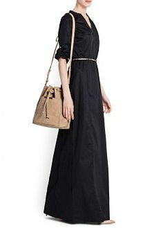 MANGO - NUEVO - VESTIDO LARGO CAMISERO ALGODÓN Mango Clothing, Maxi Shirts, Cotton Long Dress, Comfortable Outfits, Color Combinations, Dress Outfits, Dressing, Dresses For Work, My Style