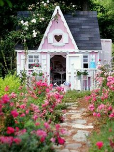 Pink Cottage Playhouse
