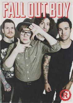 FOB. all of you. stop being so perfect.