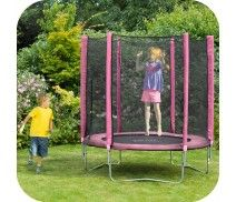 PLUM® 6FT TRAMPOLINE AND ENCLOSURE - PINK