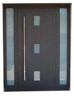 Modern Entrance Door, Modern Front Door, Front Door Design, Entrance Doors, Window Design, Steel Gate Design, Composite Front Door, Flush Doors, External Doors
