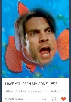 #ahs #AHSHotel #JohnLowe #Nemo #Funny #omg