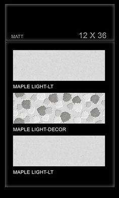 #Maple Light - Millennium #Tiles 300x900mm (12x36) Digital Ceramic Large Format OCT Matt #WallTiles   - Maple Light LT   - Maple Light Decor   - Maple Light LT   - Six Colour Technology: This six colour digital colour printing process uses CMYK inks plus a lighter shade of cyan (LC) and magenta (LM) to create more realistic tiles.