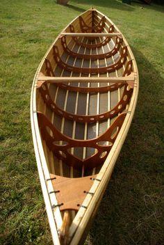 Flaxland skin-on-frame boat
