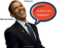 She can cook... & she is an #engineer! #Faadooengineers
