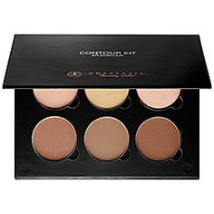 Anastasia Beverly Hills Contour Kit ($40) sephora.com | Limited Edition. This contouring collectible contains six blendable formulas to sculpt and define features. Removable and refillable, the set contains all the color needed to start expertly emphasizing eyes, cheekbones, nose, and jawline.