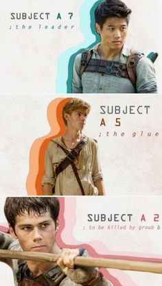 Minho, Newt, and Thomas The Maze Runner Gladers Maze Runner Thomas, Newt Maze Runner, Maze Runner Quotes, Maze Runner Funny, Maze Runner Trilogy, Maze Runner Movie, Maze Runner Series, Maze Runner Characters, Thomas Brodie Sangster