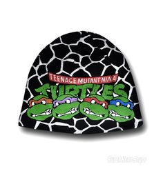 Images of TMNT Reversible Black Beanie!!! WANT!