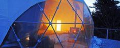 【國外建築推薦】阿爾卑斯山上的雪帳篷