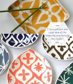 Ceramic bowls by Susan Rodriguez
