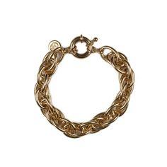 Bracelet ALBERT plaqué or - Adeline Affre