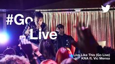 Vic Mensa and KNA release new song to launch Twitters live feature #OnlineMarketing Social Media