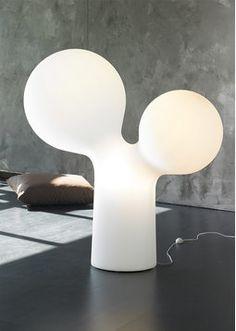 Double Bubble/Tuplakupla by Eero Aarnio Lamp Design, Nordic Design, Aarnio, Black And White Interior, Interior Styling, Scandinavian Design, Light Decorations, Objects Design, Unusual Lighting