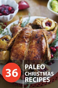 36 Paleo Mouth Watering Paleo Recipes – Perfect for the festive season! Click the image to get your recipes.