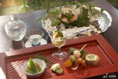 Kaiseki Ryōri (懐石料理) is a traditional multi-course Japanese 'haute cuisine'dinner