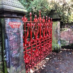 Strawberry Fields- Liverpool, England