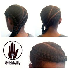 Braided Protective Style #hairbyilly