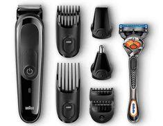 Braun MGK 3045 Multi Grooming Kit battery 7 in 1 trimmer razor beard 6 attachments . - Braun MGK 3045 Multi Grooming Kit battery 7 in 1 trimmer razor beard 6 attachments appli - Best Hair Trimmer, Hair Trimmer For Men, Braun Beard Trimmer, Beard Straightening, Beard Company, Gillette Fusion, Best Shave, Beard Trimming, Shaving