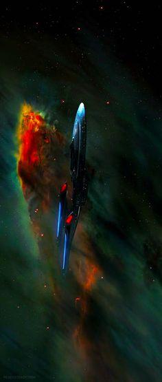 The Enterprise e from Star Trek First Contact