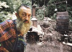 "On October 5, 1946, Marvin ""Popcorn"" Sutton, notorious moonshiner and cultural icon, was born in Maggie Valley. Sutton, a gritty, spirited fellow, first learned how to concoct illegal alcohol from ..."