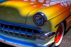 1954 Chevy Bel Air Custom Hot Rod