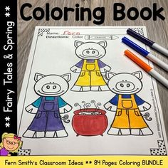 82 Total Coloring Pages! 40 Coloring Pages for Spring and 42 Coloring Pages for Fairy Tales! Spring and Fairy Tales Fun! Color For Fun Printable Coloring Pages - 82 coloring book pages! Spring Coloring Pages, Coloring Book Pages, Printable Coloring Pages, Second Grade Teacher, First Grade, After School Tutoring, The Happy Prince, Fairy Tales Unit, Parent Volunteers