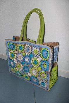 85 Beste Afbeeldingen Van Ah Tassen Crochet Purses Crochet Bags