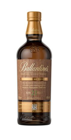Ballantine's 21 Year Old Signature Oak Edition — The Dieline - Branding & Packaging