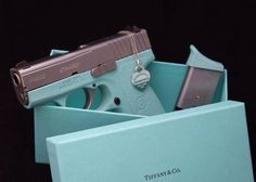 tiffany's handgun | And here is a Tiffany & CO Glock