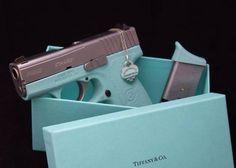 tiffany's handgun   And here is a Tiffany & CO Glock