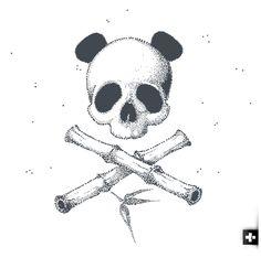 My Pirate Panda Flag